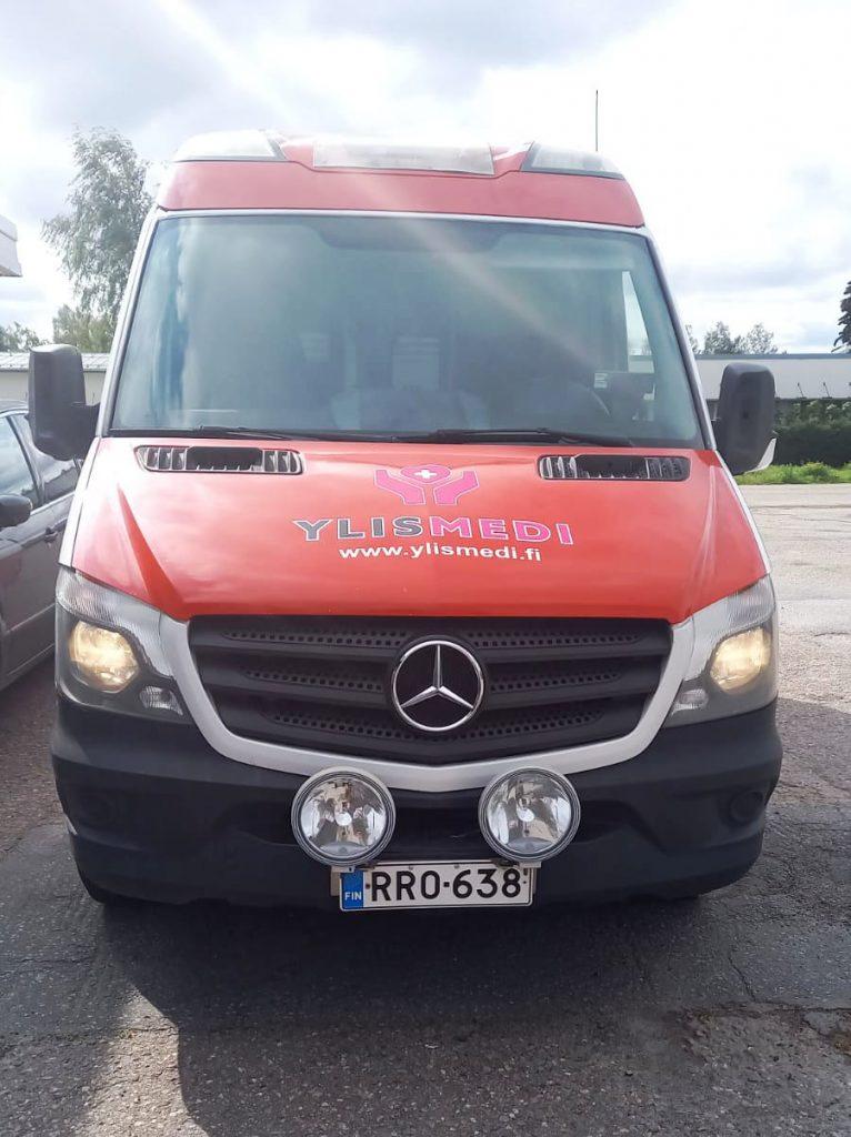 Vuokraa Ylismedi ambulanssi Ylistaro Seinäjoki