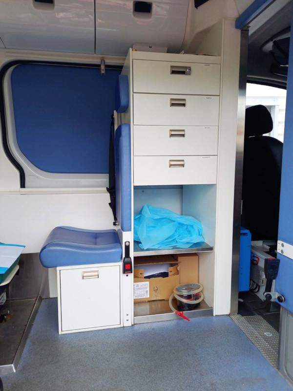 Vuokraa Ylismedi ambulanssi Ylistaro Seinäjoki, erilaisia varusteita